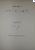 Couverture du livre illustré par Paul Valéry. 1942 éditions Emile-Paul Frères.