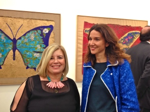 l'artiste Christina Oiticica à gauche
