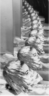 Audrey Hepburn Musée du Jeu de Paume. New York, années 1950 Erwin Blumenfeld Épreuve gélatino-argentique, tirage d'époque. Collection particulière, Suisse. © The Estate of Erwin Blumenfeld