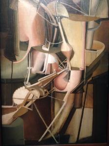 """Marcel Duchamp. """"Mariée"""" 1912. Huile sur toile."""