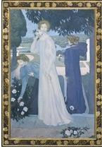 Jusqu'au 22 février Musée d'Orsay Maurice Denis Portrait d'Yvonne Lerolle en trois aspects © Musée d'Orsay, dist. RMN-Grand Palais / Patrice Schmidt