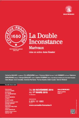 Comédie française - La Double Inconstance