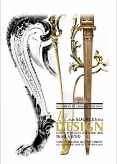 Jusqu'au 22 février 18e aux sources du design Château de Versailles.