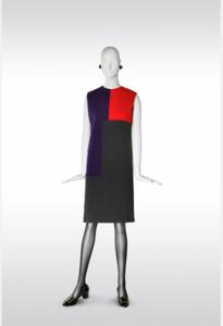 Yves Saint Laurent/Hommage à Serge Poliakoff/Collection haute couture automne-hiver 1965/©Fondation Pierre Bergé – Yves Saint Laurent / Alexandre Guirkinger