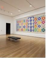 Vue de l'installation d' Henri Matisse: les découpes au Musée d'Art Moderne de New York (le 12 octobre 2014-Février 10, 2015). Photo par Jonathan Muzikar. © 2014 Le Musée d'Art Moderne