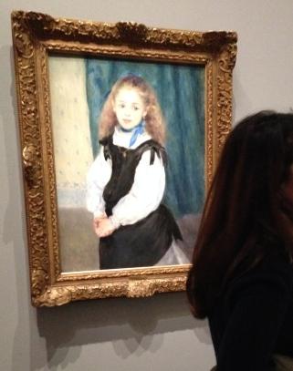 Pierre-Auguste Renoir Mademoiselle Legrand 1875 Huile sur toile, 81,3 x 59,7 cm Philadelphie, Philadelphia Museum of Art