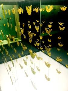 Musée de l'or - Bijoux de dentelle d'Or