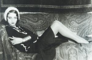 """N°184 - J.H. Lartigue (1894-1986) """"Renée"""" 1931 Tampon, signature et dédicace 20X30 Vente 16/10/2015 -Thierry de Maigret - Coll Edouard Boubat"""