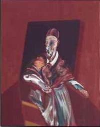 45. Francis Bacon (1909-1992) Seated Figure huile sur toile 60 x 47 1/8 po. (152,8 x 119,5 cm.) Peint en 1960. Adj : 44 965 000 $
