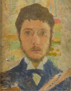 "N°38 ""Bonnard à 24 ans"" adjugé : 960000 € Vente Osenat 29/03/2015"