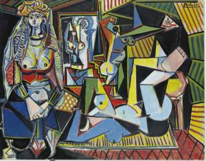 """Vente 11/05/2015 Picasso """"Les femmes d'Alger"""" Christie's NY Est : 140000000 $"""