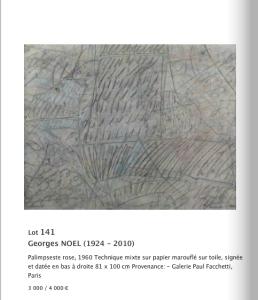 Vente 24/06/2015 Salle 10 à Drouot. Thierry de Maigret