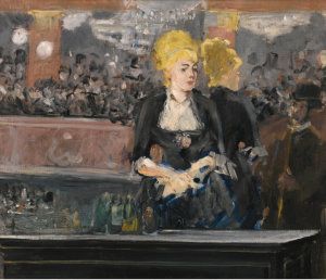 N°8- Edouard Manet LE BAR AUX Folies-Bergère Estimation 15000000 - 20000000 GBP Lot. Vendu 16.949.000 GBP
