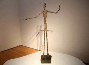 "Alberto Giacometti ""L'homme au doigt"" Enchère record"