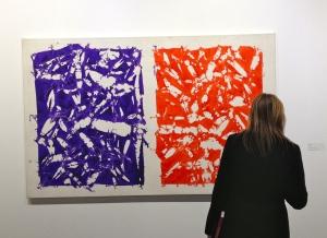 Hantaï galerie Jean Fournier