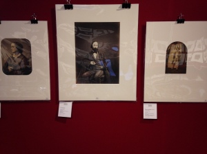 """95 - Pierre Petit """"Portrait d'Adèle Hugo"""" 4/5000 € 97 - P.J. Delbarre """"Auguste Vacquerie"""" est : 3/4000€ 98- Auguste Vacquerie """"Charles Hugo, Jersey"""" est : 4/5000€"""