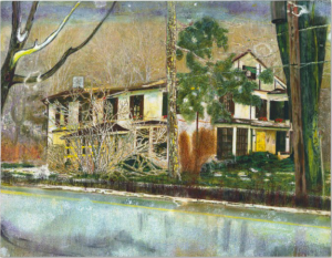 Pine House (Room for rent) -1994 P.Doig 180 x 230 cm