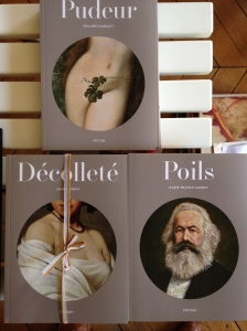 """""""Poils"""", """"Décolleté"""" et """"Pudeur"""" Coll. Pictum, éditions de la Table Ronde"""