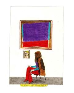 """She loved art, more than she loved me"" Exposition Londres à la galerie Heike Moras"
