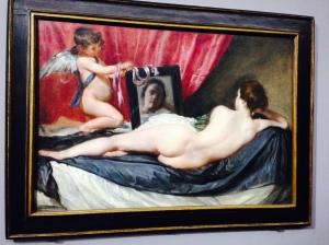 """Pour """"Pudeur"""" : Vélasquez """"Vénus à son miroir"""" Grand Palais"""