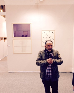 Noël Dolla devat 3 de ses oeuvres, 1969 Galerie Ceysson