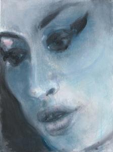 Marlene DumasAmy - Blue 2011National Portrait Gallery, London© Marlene DumasPhoto: Peter Cox