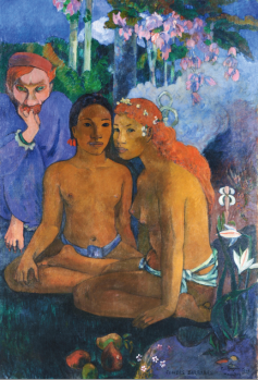 Paul Gauguin  Contes Barbares, 1902   131,5 x 90,5 cm Photo: © Museum Folkwang, Essen