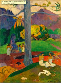 Paul Gauguin Autrefois,1892   91 x 69 cm  Photo: © Colección Carmen Thyssen-Bornemisza en depósito en el Museo Thyssen-Bornemisza