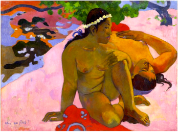 Paul Gauguin Eh quoi tu es jalouse?, 1892, 66X89 cm