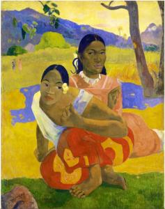 Paul Gauguin Quand te maries-tu?, 1892, 105X78 cm