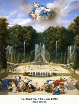 Vue du Théatre d'Eau Jean Cotelle 1688