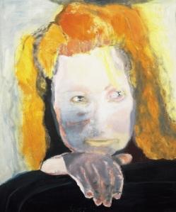 Marlene DumasEvil is Banal1984Collection Van Abbemuseum, Eindhoven, The Netherlands© Marlene DumasPhoto credit: Peter Cox, Eindhoven, The Netherlands