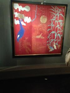 """Pierre Bonnard """"Paravent à trois feuilles"""" 1889 Coll Marlène et Spencer Hays"""