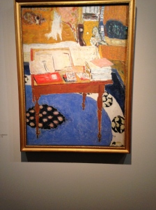 "Pierre Bonnard ""La table de travail"" 1926-1937"