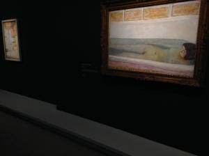 """Pierre Bonnard - """"Baignoire dite aussi Le bain"""", 1925 Peindre l'Arcadie du 17 mars - 19 juillet 2015"""