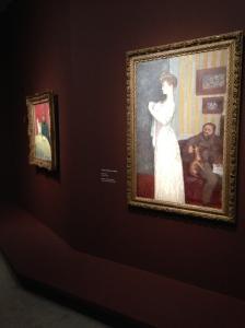 """Pierre Bonnard """"Thadée et Misia Nattanson"""" 1902"""