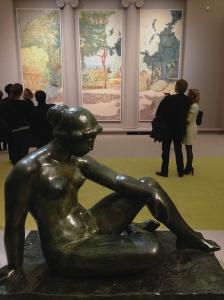 """Pierre Bonnard - Panneaux décoratifs pour Josse et Gaston Bernheim, 1916-1920. """"Méditerranée"""" dit aussi """"Monuments"""" """"Les travailleurs à la Grande Jatte"""" et """"La symphonie pastorale"""""""