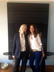 Anne Pierre d'Albis-Ganem et Marie-Laure de Clermont-Tonnerre - fondatrices de Spirit now!