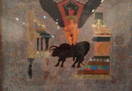 """""""Séductions"""" 1985 Carol Rama - MAM de la ville de Paris du 3/04 au 12/07/2015"""