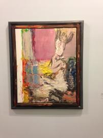 "Markus Lupertz  ""Nach Goya - Rosa fenster"" (d'après Goya, la fenêtre rose) 2002"