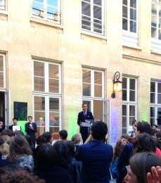 Frédéric Mion directeur de Sciences Po Prix Sciences Po pour l'art contemporain - 6e édition