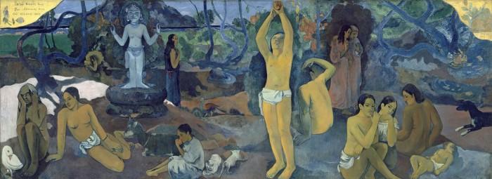 Paul Gauguin D'où venons-nous? Que sommes-nous? Où allons-nous?, 1897/98 139,1 x 374,6 cm Photo : © 2015 Museum of Fine Arts, Boston