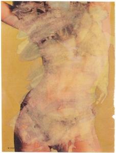 Marlene DumasScope Magazine Pin-up 1973Private Collection© Marlene Dumas