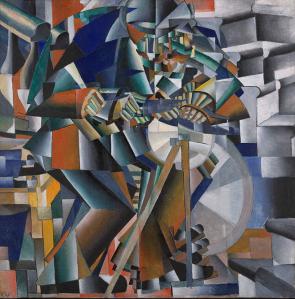 Malevitch l'aiguiseur de couteau , 1913