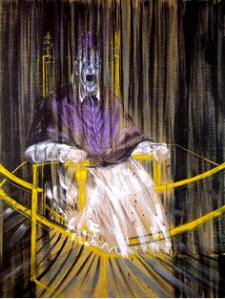 Vte Sotheby's 16/05/2015 Francis Bacon, « Study from Innocent X », 1962, Adjugée 52,68 millions $