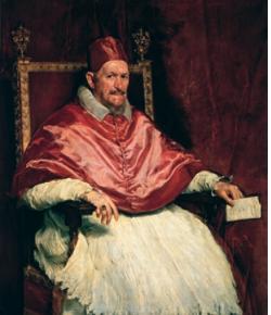Diego Velázquez Portrait du pape Innocent X 1650 Huile sur toile, 140 x 120 cm Rome, Galleria Doria Pamphilj © Amministrazione Doria Pamphilj srl