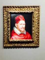 Attribué à Diego Rodríguez de Silva y Velázquez (1599-1660) Étude pour le portrait du pape Innocent X Vers 16549 Huile sur toile, 49,2 × 41,3 cm Washington, National Gallery of Art, Andrew W. Mellon Collection