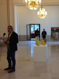 Salon de Montrouge 2015 Olivier Assayas : président du jury.