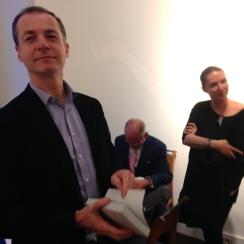 Charles Jaigu, Jean-Yves Berthault et Marie de Maigret