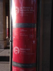 """23/05 au 25/07 2015 """"La Maison de Bernarda Alba"""" Comédie Française http://www.comedie-francaise.fr/spectacle-comedie-francaise.php?spid=1414&id=517"""